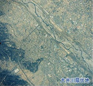 大井川扇状地